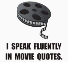 Speak Movie Quotes Kids Tee