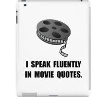 Speak Movie Quotes iPad Case/Skin