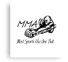"""Most Sports Use One Ball""  Canvas Print"