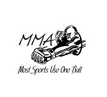 """""""Most Sports Use One Ball""""  Photographic Print"""