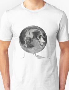 SINEAD on the moon (with neck) Unisex T-Shirt