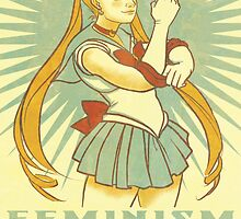 Feminism is Sailor Moon by angicita