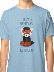 A Red Panda Graduation Classic T-Shirt