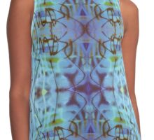 Abstract Doodles Contrast Tank