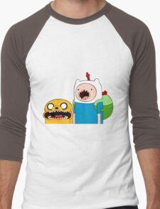Adventure Time Finn and Jake Men's Baseball ¾ T-Shirt