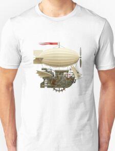 Flying Ship Unisex T-Shirt