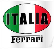 ITALIA FERRARI Poster
