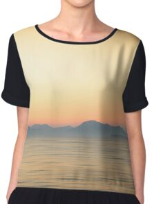 Down by the sea Chiffon Top