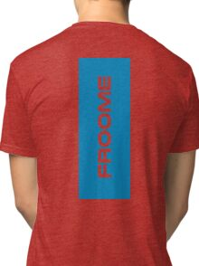 Froome blue Tri-blend T-Shirt