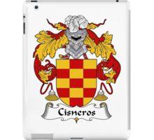Cisneros Coat of Arms/Family Crest iPad Case/Skin