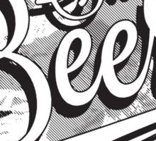 Blood, Sweat + Beers Sticker