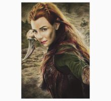 Tauriel Portrait- The Hobbit, Desolation of Smaug Baby Tee
