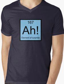 Ah! Element Of Surprise Mens V-Neck T-Shirt