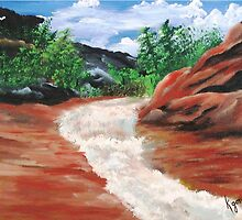 Slide Rock by WhiteDove Studio kj gordon