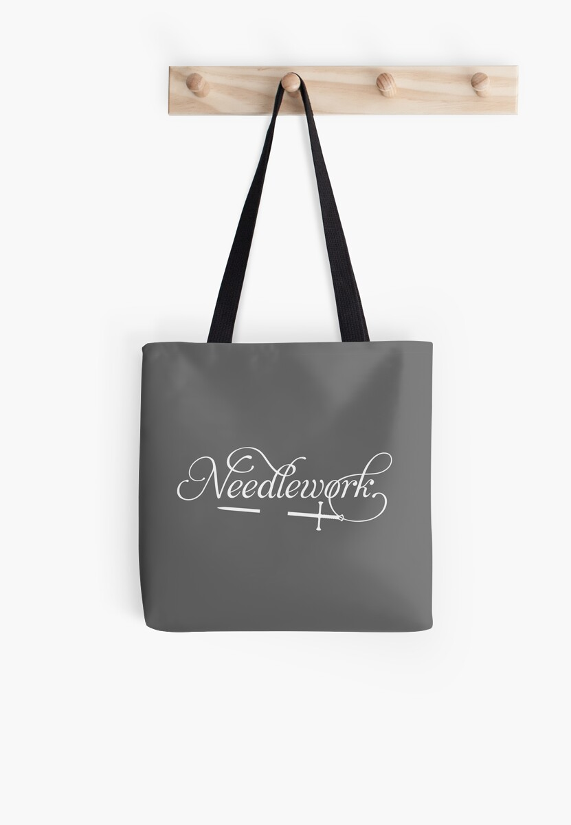 Needlework (white) by JenSnow