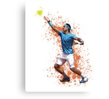Viva La Rafa - King of Clay Canvas Print
