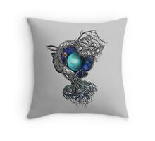Dimensional Tree Throw Pillow