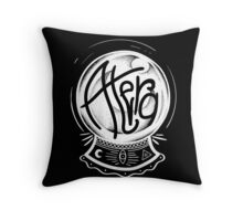 Crystal Ball 'Fortune' - Atera Apparel Throw Pillow