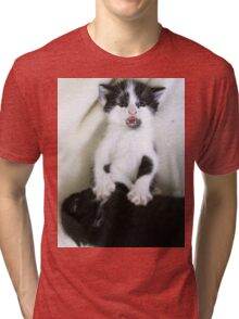 Off Off Off! Tri-blend T-Shirt