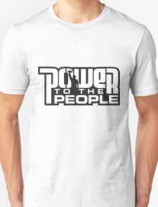 Power To The People - WHITE Unisex T-Shirt
