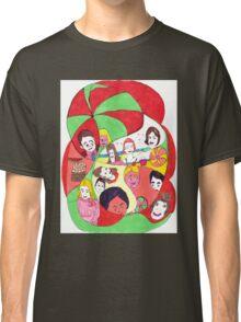 Beach Ball Faces Classic T-Shirt