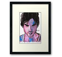 Damon Framed Print