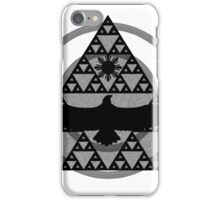 Eagle Rising - Black iPhone Case/Skin