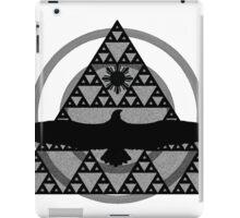 Eagle Rising - Black iPad Case/Skin