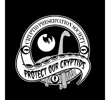 Cryptid Preservation Society Photographic Print