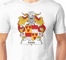 Cortez Coat of Arms/Family Crest Unisex T-Shirt