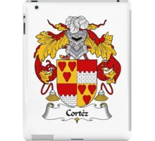 Cortez Coat of Arms/Family Crest iPad Case/Skin