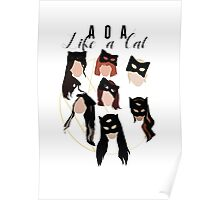 Like A Cat Poster