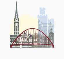 Newcastle skyline poster Unisex T-Shirt
