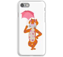 Small World Tiger iPhone Case/Skin