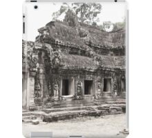 Ta Prohm temple, Angkor, Siem Reap Province, Cambodia iPad Case/Skin