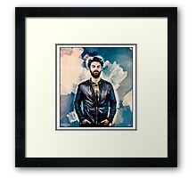 An thief i dom Framed Print