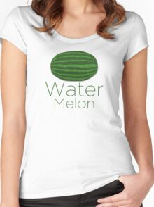 Water Melon Women's Fitted Scoop T-Shirt
