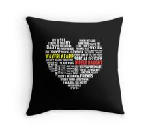 Wayhaught quotes - best of ; Throw Pillow