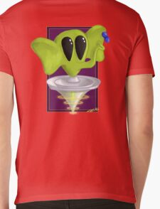 Space Peanut. Mens V-Neck T-Shirt