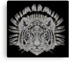 Tribal Tiger Canvas Print