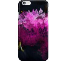 PINKY ABSTRACT FOREST iPhone Case/Skin