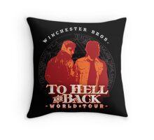 Winchester Bros. World Tour Throw Pillow
