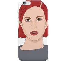 Paramore Hayley Digital Art iPhone Case/Skin