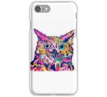 pinky the owl iPhone Case/Skin