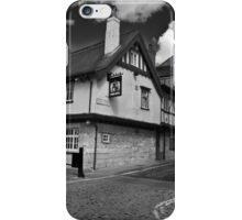 "The Kings Arms. ""The pub that floods"" iPhone Case/Skin"