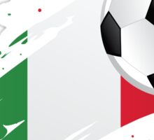 Italian Soccer Flag Sticker