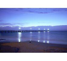 Port Noarlunga Jetty Photographic Print