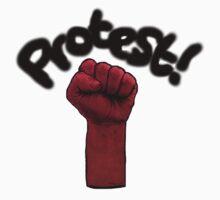 Protest by Mancky