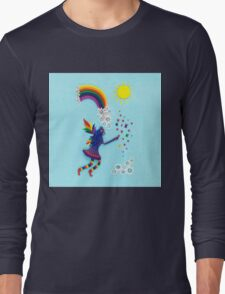 The Rainbow Fairy Long Sleeve T-Shirt