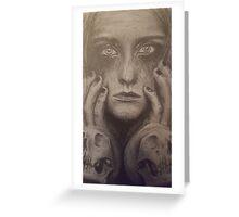 Gothic design   Greeting Card